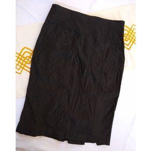 Bebe | linen blend pencil skirt